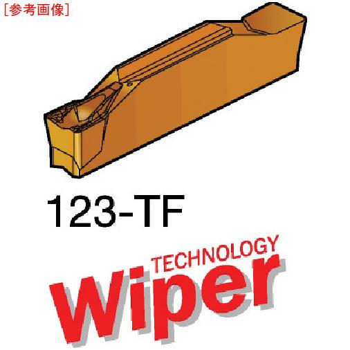 サンドビック 【10個セット】サンドビック コロカット2 突切り・溝入れチップ 1125 N123J205000004TF-F87161125