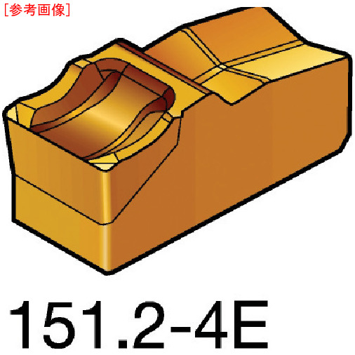 サンドビック 【10個セット】サンドビック T-Max Q-カット 突切り・溝入れチップ 1125 N151.25004E-E87161125
