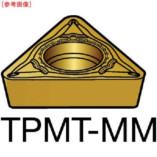 サンドビック 【10個セット】サンドビック コロターン111 旋削用ポジ・チップ 2025 TPMT16T304MM