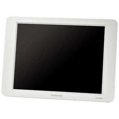 センチュリー 8インチアナログRGBモニター plus one VIDEO VGA(ホワイト) LCD-8000V2W-W【納期目安:約10営業日】