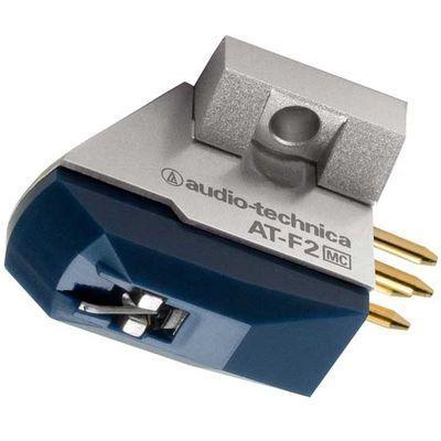 オーディオテクニカ Audio-Technica MC型(デュアルムービングコイル)ステレオカートリッジ AT-F2【納期目安:3週間】