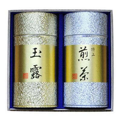 鈴木園 【のし・包装可】特選玉露・特上煎茶セット(180g×2) G-811 SZK-G-811