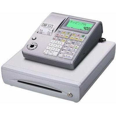 カシオ TE-400SRL 電子レジスター (シルバー) TE-400-SRL【納期目安:2週間】