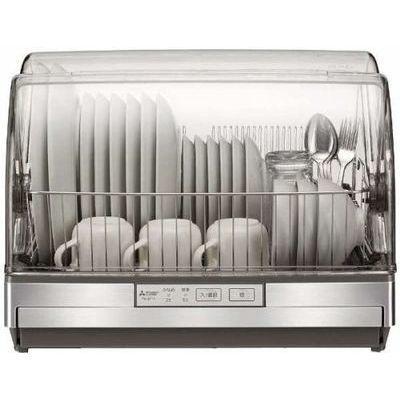 送料無料 三菱電機 流行のアイテム 食器乾燥器 本物 ステンレスボディタイプ ステンレスグレー 6人分まで TK-ST11-H