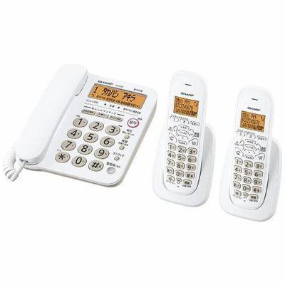 シャープ デジタルコードレス電話機(子機2台) ホワイト系 JD-G32CW【納期目安:約10営業日】