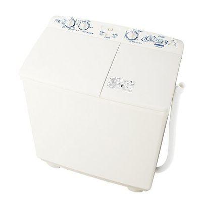 AQUA 二槽式洗濯機(洗濯・脱水容量5.5kg) ホワイト AQW-N551-W【納期目安:約10営業日】