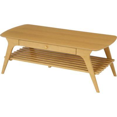 不二貿易 引出付センターテーブル アルブ NA 06V-M17-11050 FJ-37032【納期目安:9/下旬入荷予定】