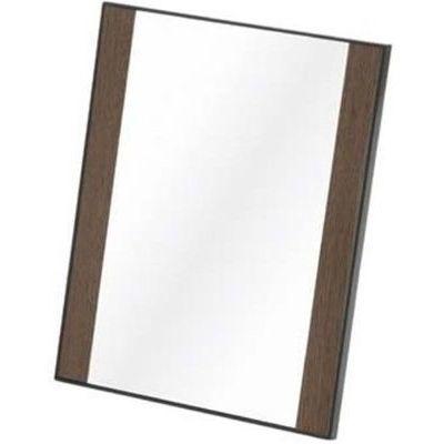 送料無料 メリー 鏡 半額 卓上ミラー 物品 ブラウン 4979149994791 AD-132 木目調