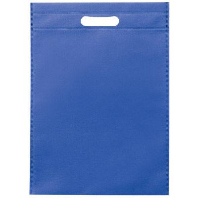 その他 【360個セット】不織布A4小判抜きバッグ(ブルー) MRTS-60015BL