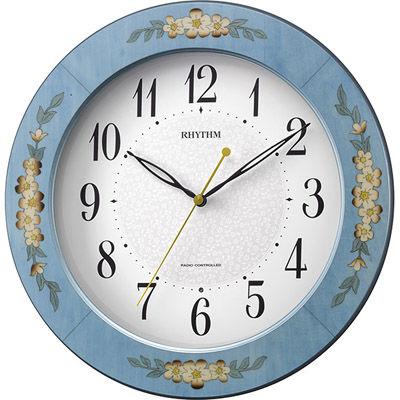 リズム時計 アマービレM521(青) 8MY521SR04