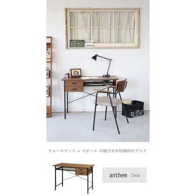 市場(Marche) anthem Desk(trance) (ブラウン) ANT-2840-BR