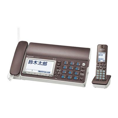 パナソニック デジタルコードレス普通紙ファクス(子機1台付き)おたっくす KX-PD615DL-T