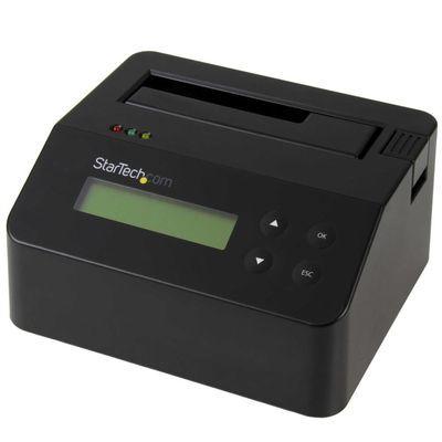 StarTech スタンドアローン型SATA対応HDD/SSDイレーサー&ドック 9つの消去モード 2.5/3.5インチ対応ハードディスクドライブ用ドッキングステーション USB 3.0接続 SDOCK1EU3P