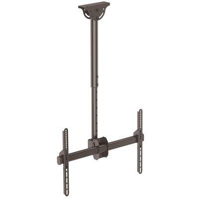StarTech 薄型液晶テレビ天吊り金具 天井からの距離を560mmから910mmに調節 32インチから75インチTVに対応できる天吊りハンガー VESAマウント規格サポート FPCEILPTBSP