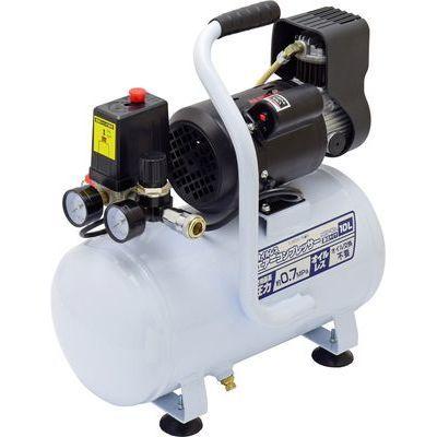 【あす楽対応_関東】EARTH MAN 静音タイプ オイルレスエアーコンプレッサー 10L ACP-10A TKG-1405145
