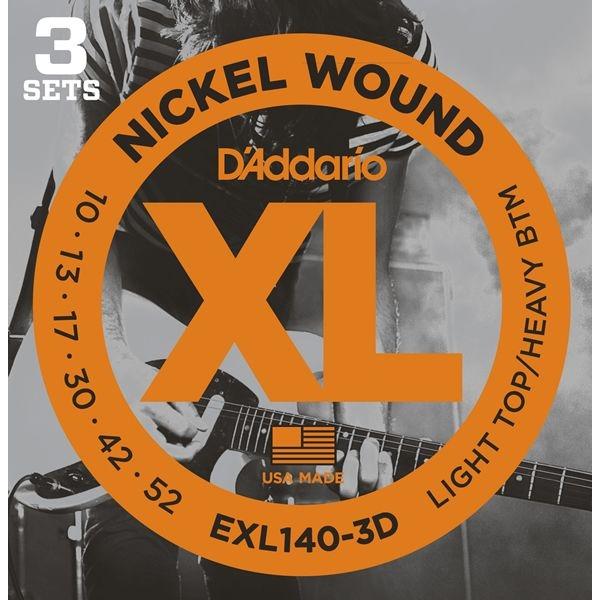 DADDARIO 【10個セット】D'Addario EXL140-3D エレキギター弦 パック 0019954970444