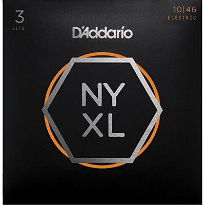 DADDARIO 【5個セット】D'Addario / NYXL1046-3P 10-46 NYXL エレキギター弦 ダダリオ 0019954168278