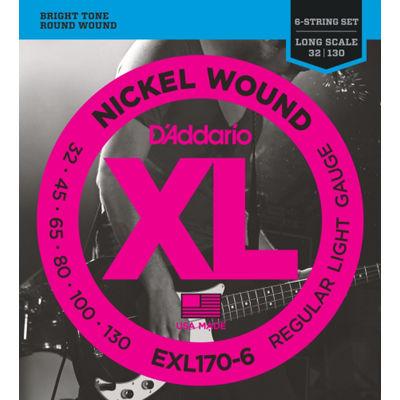 DADDARIO 【5個セット】EXL170-6 ベース弦(6弦)6弦ベース用 / D'Addario 0019954925505