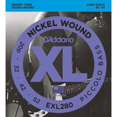 DADDARIO 【5個セット】EXL280 ダダリオ エレキベース弦 Piccolo 0019954925390