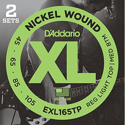 DADDARIO 【5個セット】D'Addario ベース弦 EXL165TP 0019954933814