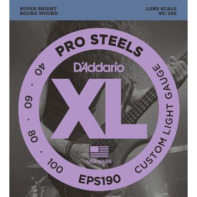DADDARIO 【5個セット】EPS190 ダダリオ エレキベース弦 Long 0019954945152