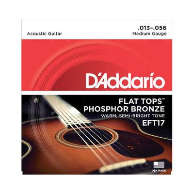 DADDARIO 【10個セット】EFT17 アコースティックギター弦 Medium / D'Addario 0019954121242