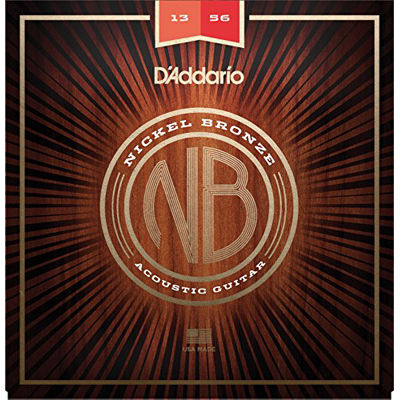 DADDARIO 【10個セット】ダダリオ/D'Addario Nickel Bronze NB1356 Medium 13-56 アコギ弦 0019954182212