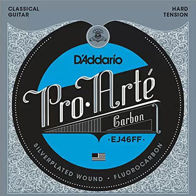 DADDARIO 【10個セット】D'Addario EJ46FF Pro-Arte Carbon Hard Tension クラシックギター弦 0019954910471