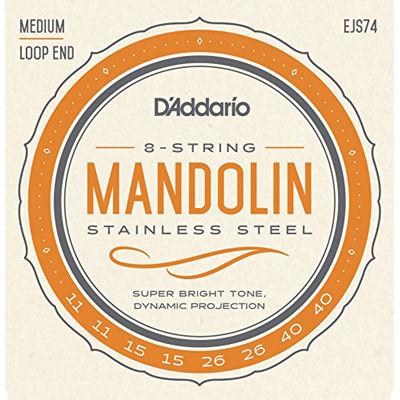 DADDARIO 【10個セット】D'Addario EJS74 マンドリン用弦 (ダダリオ) 0019954910686