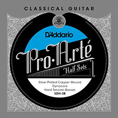DADDARIO 【10個セット】D'Addario クラシックギター弦 Pro-Art~ Basses Half Sets 低音弦ハーフセット Dynacore Silver Plated Copper Hard SDH-3B 0019954930387