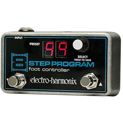 ELECTRO エレクトロハーモニクス 8 Step Program Foot Controller リモートプリセットコントローラー エフェクター 0683274011370【納期目安:追って連絡】