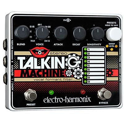 ELECTRO エレクトロハーモニクス Stereo Talking Machine ボーカルフォルマントフィルター エフェクター 0683274011165
