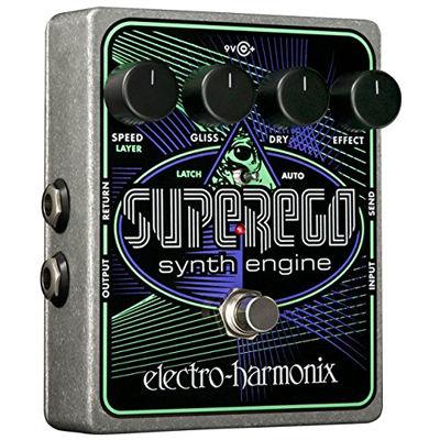 ELECTRO EHX Superego Synth Engine【エレクトロ・ハーモニクス】【シンセ】 0683274011271【納期目安:追って連絡】
