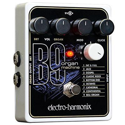 エレクトロ・ハーモニックス エレクトロハーモニックス B9 Organ Machine オルガン シミュレーション ペダル 0683274011547