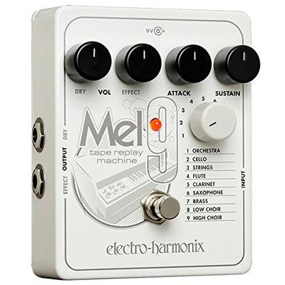 エレクトロ・ハーモニックス HARMONIX MEL9 Tape Replay Machine Mellotron メロトロン エミュレート ペダル K 0683274011837