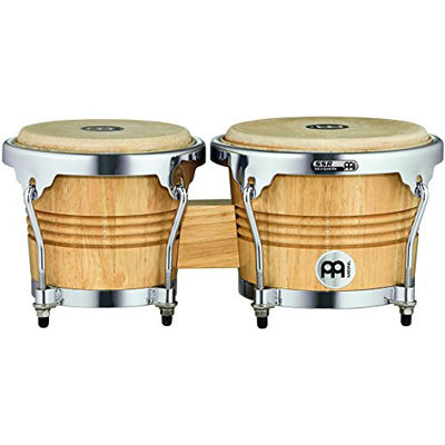 MEINL Percussion マイネル ボンゴ Wood Bongo WB200NT-CH 0840553083187