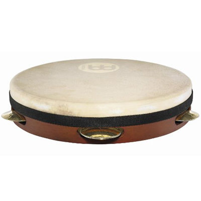 MEINL Percussion マイネル パンデイロ Shell-Tuned Goat Skin Pandeiro 10