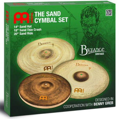 MEINL Cymbals マイネル Byzance Vintage Series シンバルセット 14