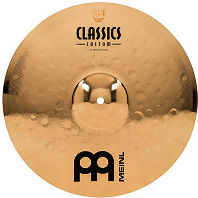 MEINL Cymbals マイネル Classic Custom Series クラッシュシンバル 14
