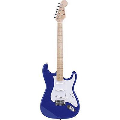 PG PhotoGenic フォトジェニック エレキギター ストラトキャスタータイプ ST-180M/MBL メタリックブルー メイプル指板 ソフトケース付き 4534853128513
