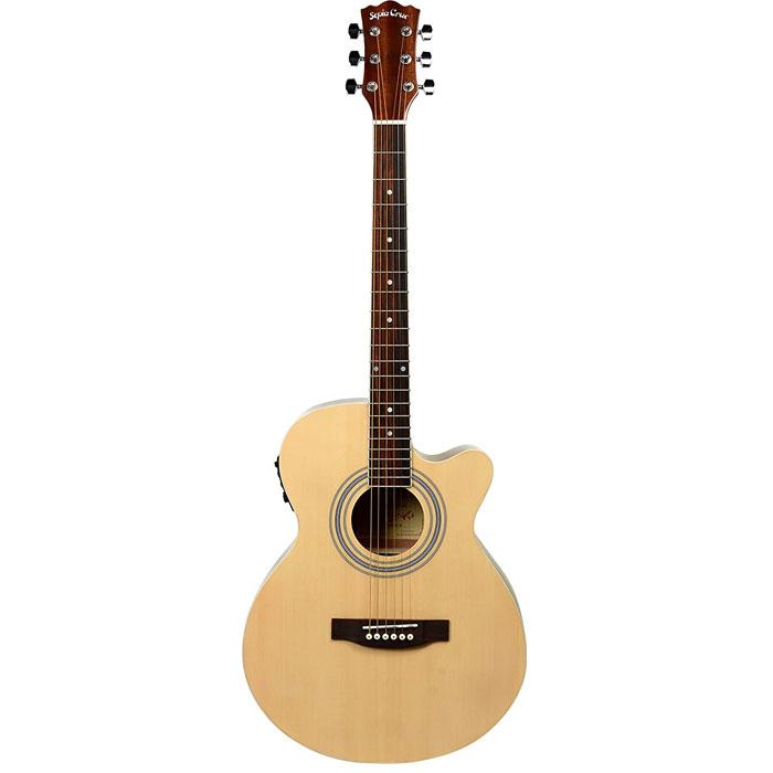 SepiaCrue(セピアクルー) エレクトリックアコースティックギター EAW-01/N ナチュラル ソフトケース付き 4534853523745