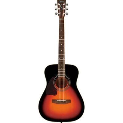SYAIRI YF-3M-LH/3TS アコースティックギター 3トーンサンバースト レフトハンドモデル Traditional シリーズ YF3MLH3TSSC ソフトケース付き 4534853521048