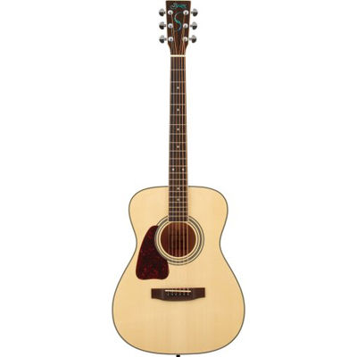 SYAIRI YF-3M-LH/N アコースティックギター ナチュラル レフトハンドモデル Traditionalシリーズ YF3MLHNSC ソフトケース付き 4534853520942