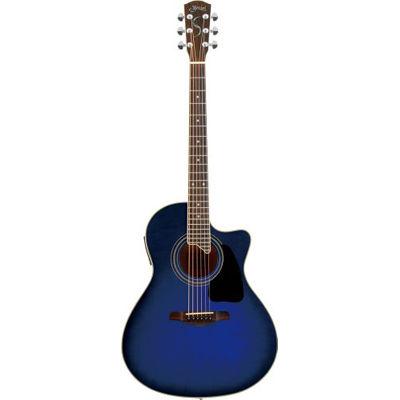 SYAIRI YE-4M/BB アコースティックギター ブルーバースト E-Acoustic シリーズ YE4MBBSC ソフトケース付き 4534853522243