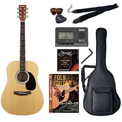 VALUE SepiaCrue/セピアクルー WG-10/N アコースティックギター初心者向け豪華8点バリューセット ビギナー向け/アコースティックギター 4534853054911