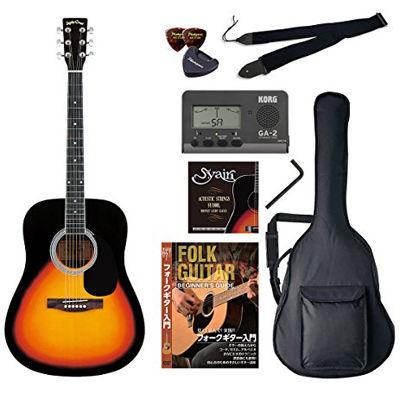 VALUE SepiaCrue/セピアクルー WG-10/VS アコースティックギター初心者向け豪華8点バリューセット ビギナー向け/アコースティックギター 4534853055017