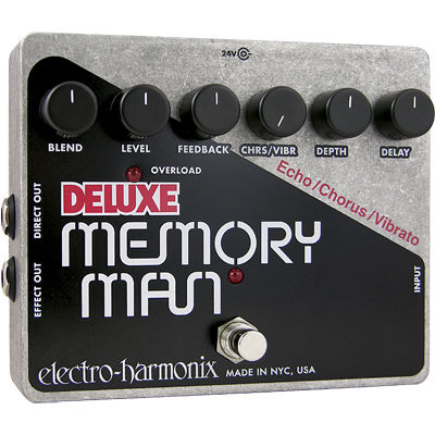 エレクトロ・ハーモニックス エレクトロハーモニクス Deluxe Memory Man アナログディレイ エフェクター 0683274010724