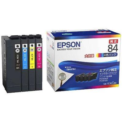エプソン 【純正】 インクパック 4色パック 大容量タイプ IC4CL84【納期目安:1週間】