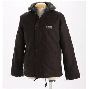 その他 米軍 『N-1』DECK ジャケット ブラック Mサイズ ds-452004