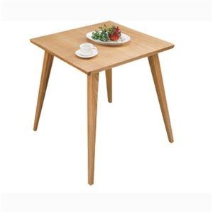 その他 【単品】ダイニングテーブル 【バンビ】 正方形 木製 2人掛けサイズ CL-786TNA ナチュラル ds-690458